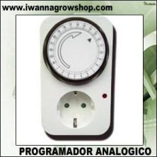 PROGRAMADOR ANALOGICO (Diario) (15 min) | Cultivo interior