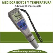 Medidor de EC-TDS y Temperatura Adwa AD31