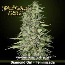 DIAMOND GIRL de GREEN HOUSE | Feminizada | Indica