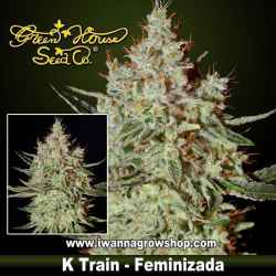 K-TRAIN de GREEN HOUSE | Feminizada | Indica-Sativa