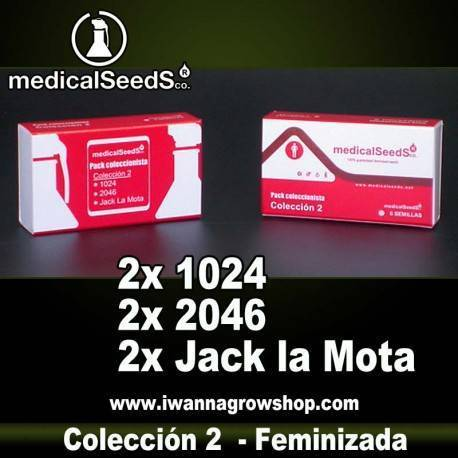 COLECCION 2 de MEDICAL SEEDS - semillas feminizadas (MIX)