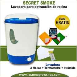 Lavadora Secret Smoke 3 mallas