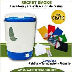 Lavadora Secret Smoke 5 mallas