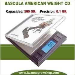 Báscula American Weigh CD