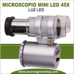 Microscopio Mini Led 45x