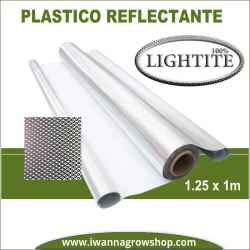 Plástico Reflectante Lightite Diamond Plateado