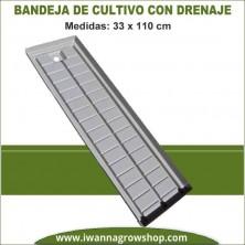 Bandeja de cultivo 33x110 cm