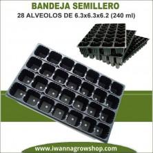 Bandeja Semillero 28 alveolos