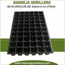 Bandeja Semillero 60 alveolos