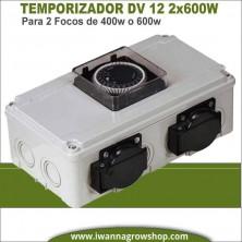 Temporizador DV 12 2x600W