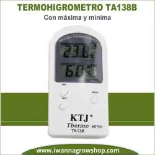 Termohigrometro digital Max/Min TA138B
