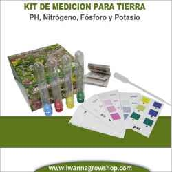 Ph Test Kit NPK de Hanna para tierra