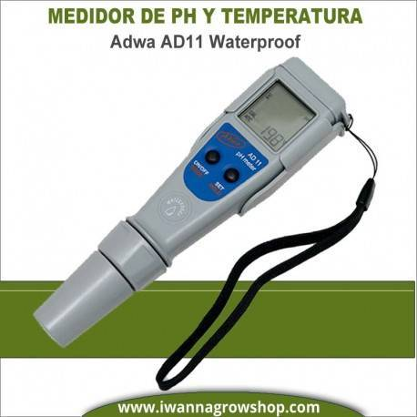 Medidor de PH y Temperatura Adwa AD11 Waterproof