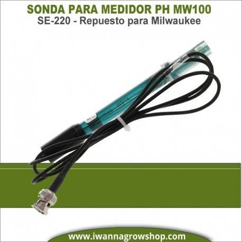 Sonda Repuesto para Medidor PH MW100