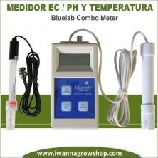 Bluelab Combo Meter – Medidor EC, PH y temperatura