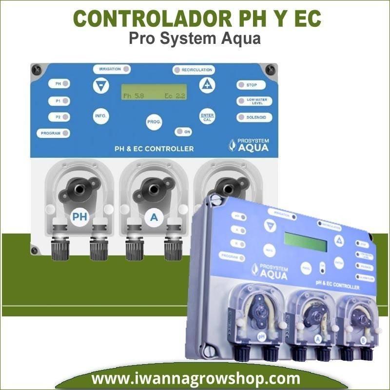 Controlador de PH y EC Pro System Aqua