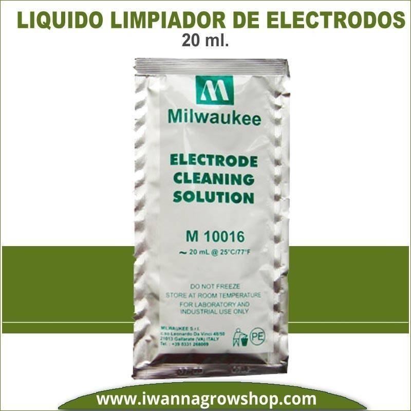Líquido Limpiador de electrodos milwaukee 20 ml