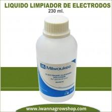 Líquido Limpiador de Electrodos Milwaukee 230 ml
