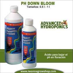 Ph- Down Bloom (0.5L-1L) - Advanced Hydroponics