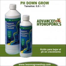 Ph Down Grow (0.5L-1L) - Advanced Hydroponics