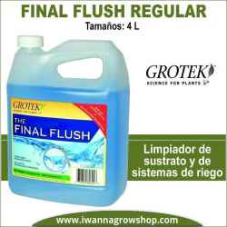 Final Flush Regular (4L) – Grotek