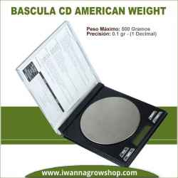 Báscula CD (500 Gr x 0.1) American Weight