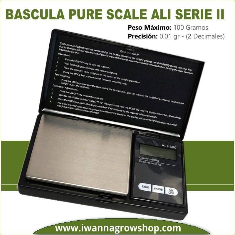 Báscula Pure Scale ALI Serie II (100 GR. X 0.01)