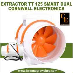 Extractor TT 125 Smart Dual (220-280 m3/h) Cornwall Electronics