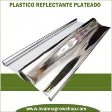 Plástico Reflectante Plateado