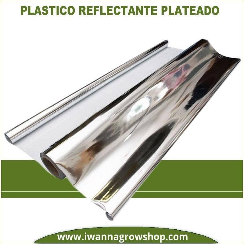 PLASTICO REFLECTANTE MYLAR (50 Micras) (1.4 MTS)