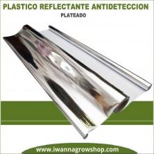 Plástico Reflectante Antidetección Plateado
