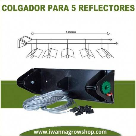 Colgador para 5 reflectores lights in line 1.0