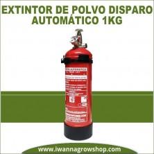 Extintor de polvo disparo automático 1 kg