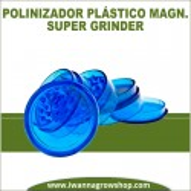 Súper Grinder Polinizador plástico plateado