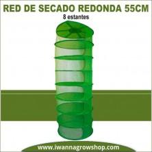 Red de secado redonda 55 cm