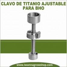 Clavo de titanio ajustable para BHO