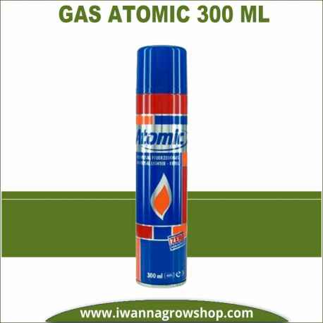Gas Atomic 300 ml para BHO
