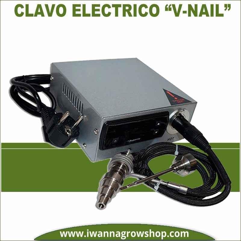 """Clavo Electrico """"V-Nail"""" Plateado para BHO"""