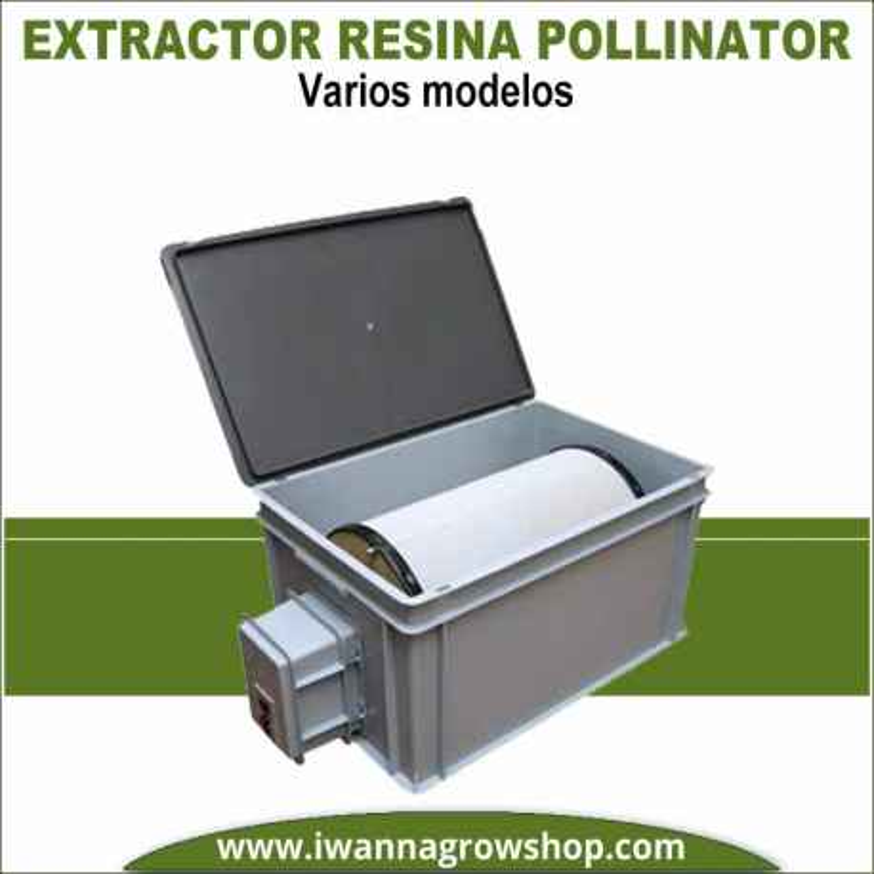 Pollinator extractor de resina