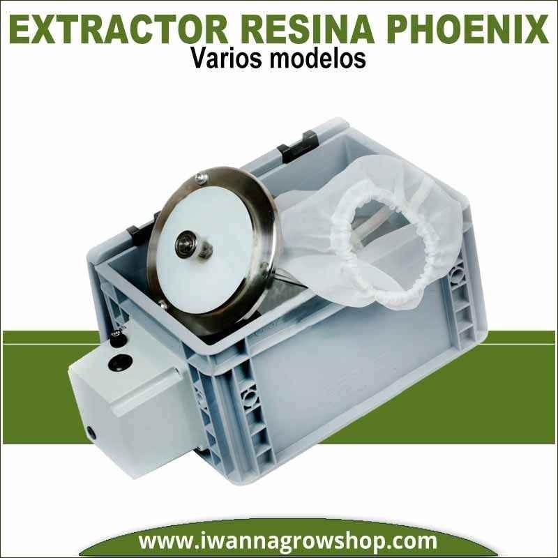 Phoenix extractor de resina