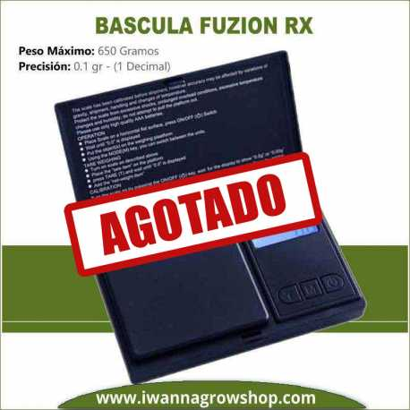 Báscula Fuzion RX (650 Gr. x 0.1)