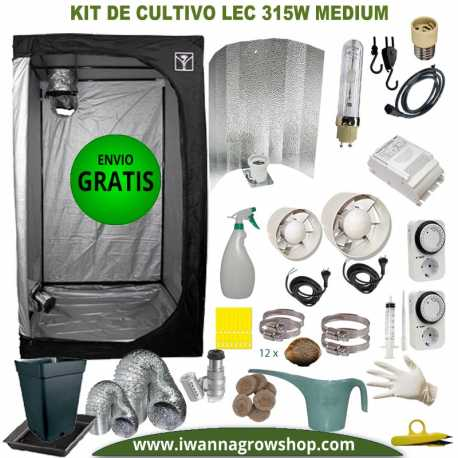 Kit de Cultivo LEC 315w Medium