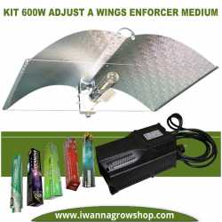 Kit 600w Clase II Adjust A Wings Enforcer Medium