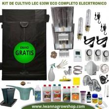 Kit de cultivo LEC 630w Eco Completo