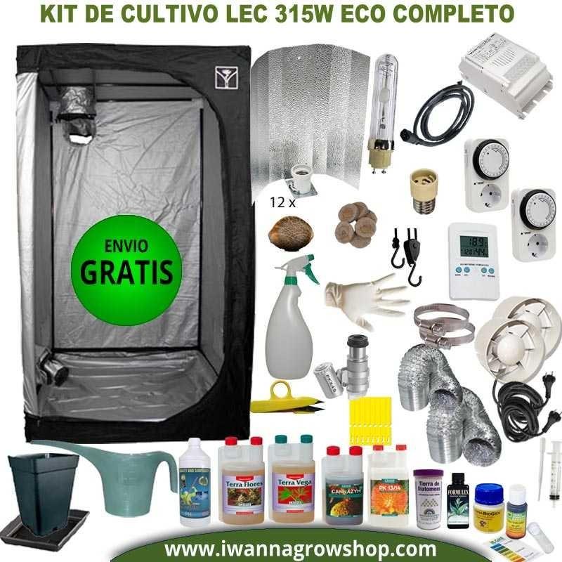Kit de cultivo LEC 315w Eco Completo