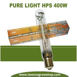 Bombilla Pure Light HPS 400w