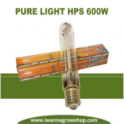 Bombilla Pure Light HPS 600w