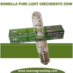 Bombilla Pure Light MH 250w