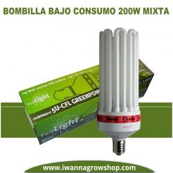 Bombilla Pure Light 200w Mixta