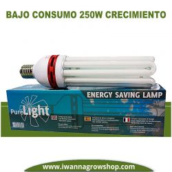 Bombilla Pure Light CFL 250w Grow